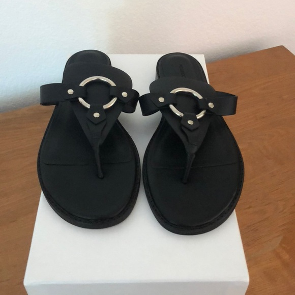 0b301d7d875 Rebecca Minkoff Sheena Sandals Black Size 7 NWOT